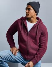 Men`s Authentic Melange Zipped Hood Sweat